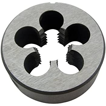 "Round Adjustable  Split Die Right Hand 13//16/"" O.D. Carbon Steel 4-32"