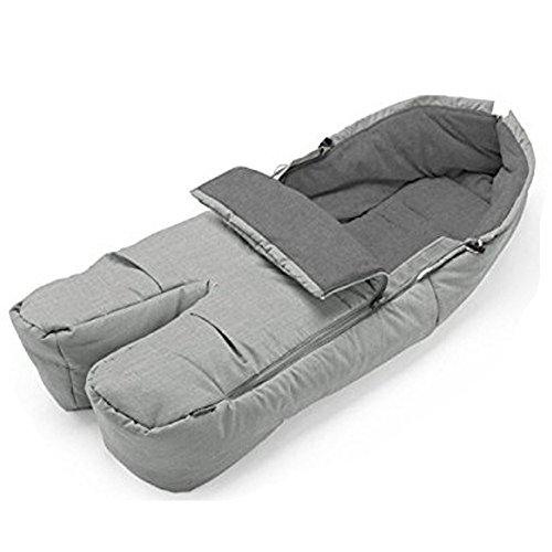 Stokke Stroller Seat Footmuff - Grey ()