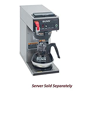 120V Bunn 12950.0293 CWTF15-1 Automatic 12 Cup Coffee Brewer with ...