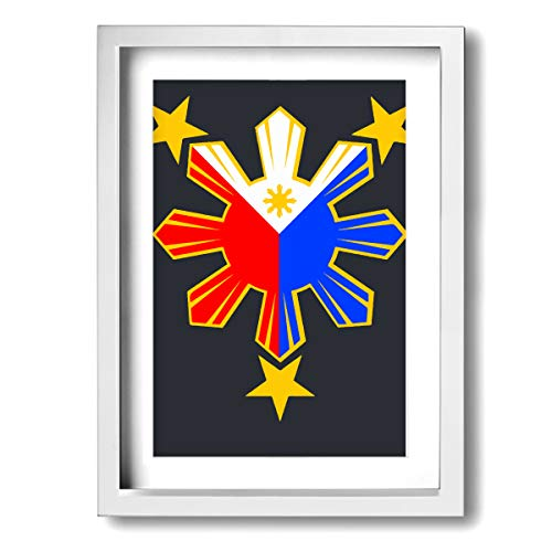Arnold Glenn Pinoy Filipino Flag Stars and Sun -Picture Paintings 12