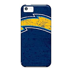 High Impact Dirt/shock Proof Cases Covers For Iphone 5c (san Diego Chargers)