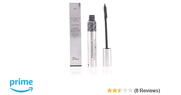 2def2f49afc Amazon.com : Christian Dior Show Iconic Over-Curl Waterproof Mascara for  Women, No. 091 Over Black, 0.33 Ounce : Beauty