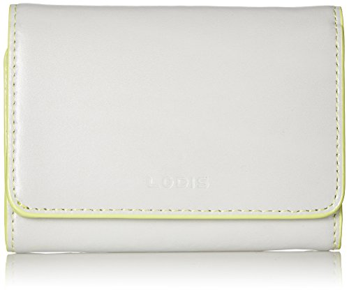 Lodis Audrey Mallory French Purse Wallet, Dove/Lime, One ...