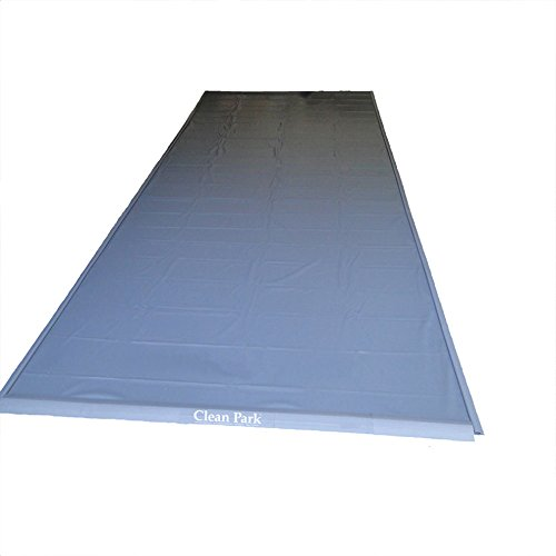 Auto Care Products 70718 Clean Park 7.5' x 18' Heavy Duty Garage Mat with 50-mil Vinyl Sheeting