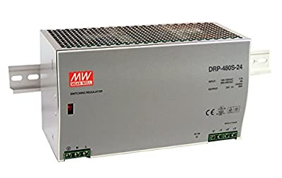 DIN Rail Power Supplies 480W 24V 20A W/ PFC Function