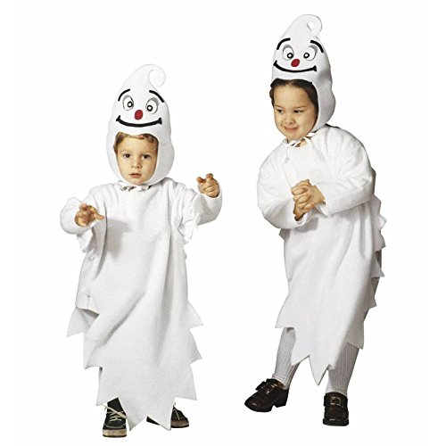 Children's Little Ghost Child Costume For Halloween Fancy -