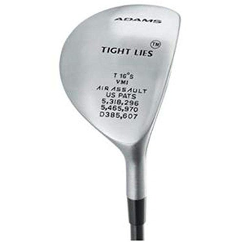 Adams Tight Lies Fairway Wood 3 Wood 3W 16 Stock Graphite Shaft Graphite Regular Left Handed 42 in