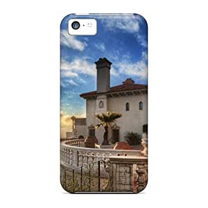 Perfect Sunset At Hearst Castle California Case Cover Skin For Iphone 5c Phone Case