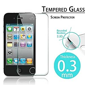 TY 2.5D Premium Tempered Glass Screen Protective Film for iPhone 4/4S