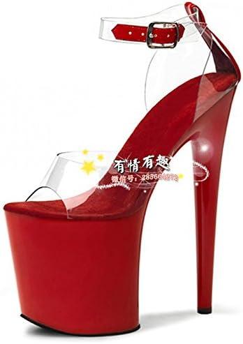 Sposa Scarpe Rosse.20 Centimetri E Scarpe Con Tacchi Rose Crystal Scarpe Vestito