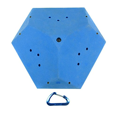 Volumes #8 (Low Profile Large Surface Triangle) | Climbing Holds | Blue by Atomik Climbing Holds