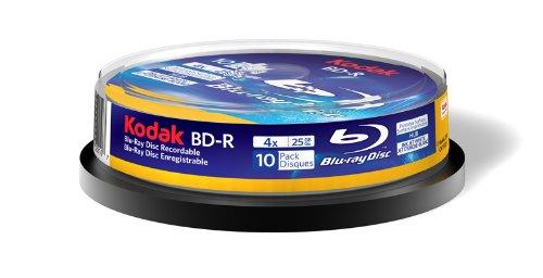 Kodak 52210 BD-R 25 GB - 10 pack by Kodak