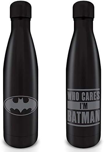 Batman - Botella MetáLica 500 Ml Torso Who Cares I'M Batman