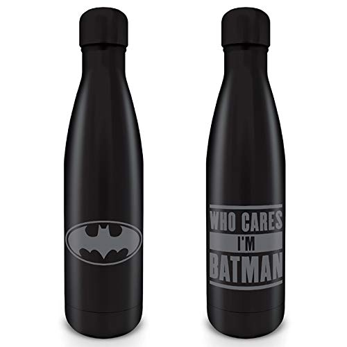 Batman - Botella MetaLica 500 Ml Torso Who Cares I M Ba