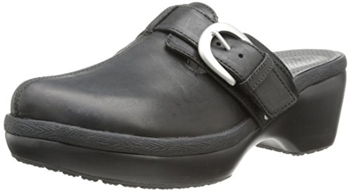 crocs Women's 15513 CB Mule,Black/Black,7 M US