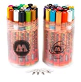 Molotow One4All 127 Paint Markers, 40 Marker Pack from Graff-City