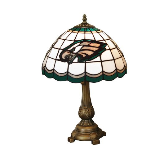 (NFL Philadelphia Eagles Tiffany Table Lamp)