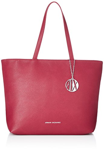 Armani Rosso Exchange Red Donna Shopping Womans Tote Borse royal OnOCwYrq