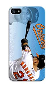 DIY MLB Baltimore Orioles Gorgeous Hard Cover Case For iPhone 5C