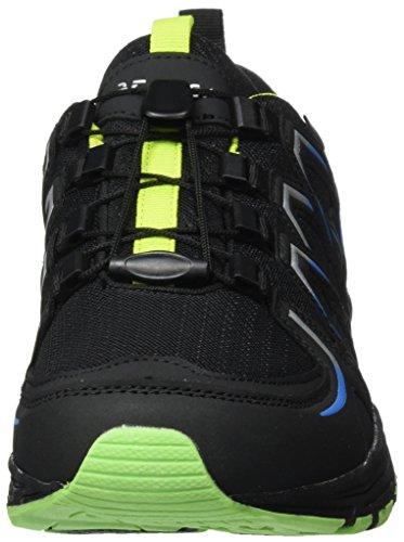Supremo Herren 3710202 Sneakers Blau (Black-Royal-Lime)