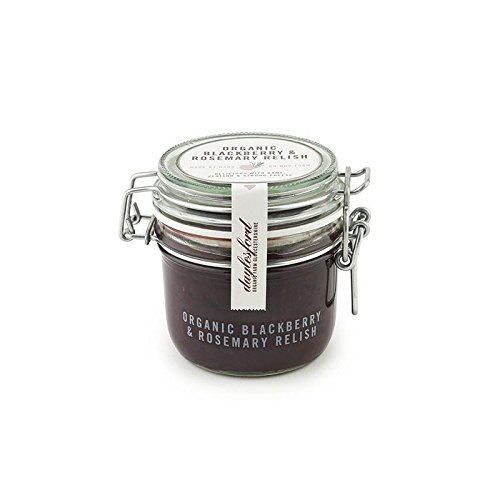 Daylesford Organic Blackberry & Rosemary Relish 227G (Pack of 4) by Daylesford