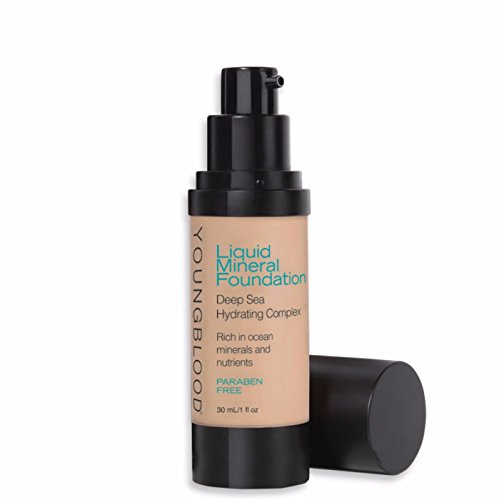 - Youngblood Mineral Cosmetics Liquid Foundation, Belize, 1 Fluid Ounce