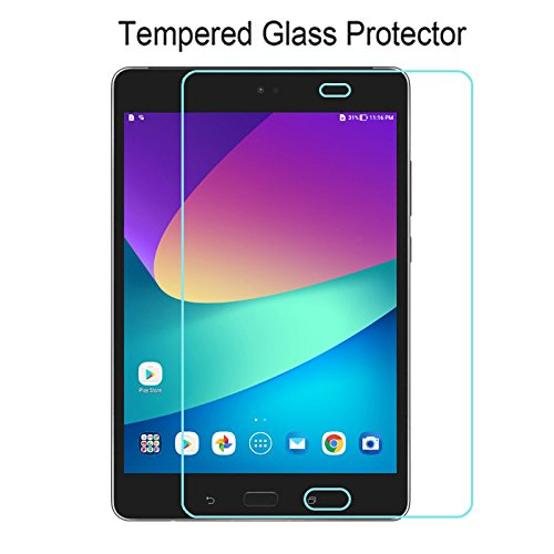 Verizon ASUS ZenPad Z8s Screen Protector, ACdream Premium HD Clear Tempered Glass Screen Protector for Verizon ASUS ZenPad Z8s Tablet with 9H Hardness / Scratch Resist - Ultra Clear