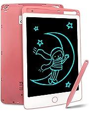 Richgv Lcd-schrijftablet Met Stylus, 8,5 Inch Digitale Ewriter Elektronische Grafische Tekentablet Uitwisbare Draagbare Doodle Mini-bord Memo Notitieblok Voor Kinderen Leren Speelgoed
