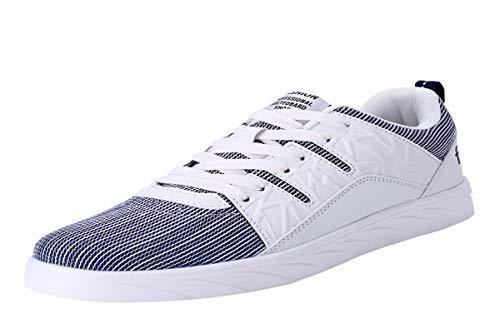 estivo da scarpe bianco scarpe sportive KMJBS ragazzo da uomo Quarantaquattro sneaker tela studenti scarpe uomo vxwEH