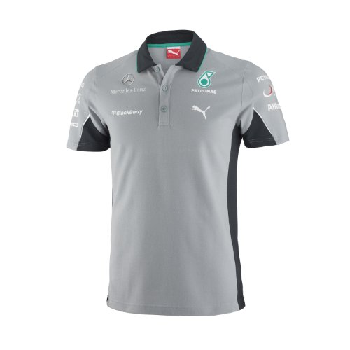 Puma Mercedes AMG Petronas F1 2014 Men's Team Polo Shirt