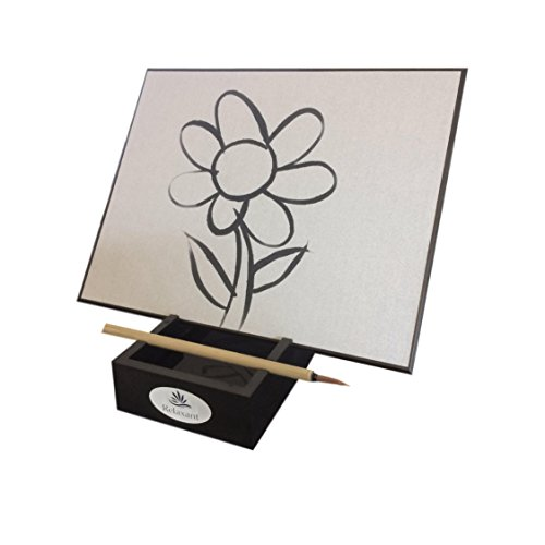 Relaxant Art Water Drawing Board With 3 Brushes And BONUS Water Pen Arts and Crafts by Relaxant