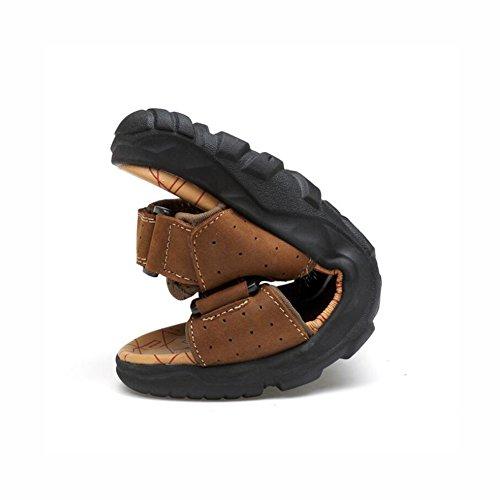 Toe Antiscivolo Scarpe in Sandali Scarpe atletiche da pelle Calzature 1 estivi Sport Open gladiatore Sandali Escursionismo casual Walking trekking da uomo da spiaggia Outdoor dqwfwxZR0