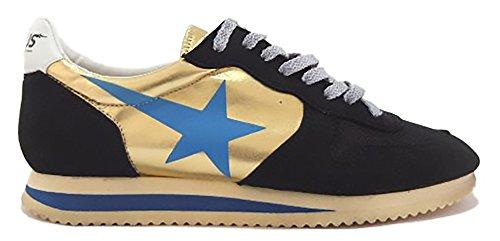 golden goose , Damen Sneaker nero e oro