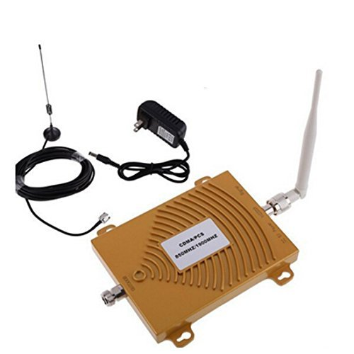 Signal Booster for USA 2G Network and 4G Network Phone signal repeater 850mhz Cdma Repeater Pcs 1900mhz Amplifier [並行輸入品]   B07DZNYXJH