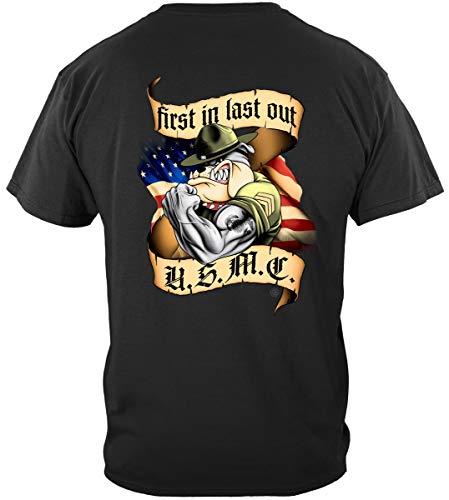 Marine Gear   First in Last Out Marine Corps T Shirt ADD-AL232XL