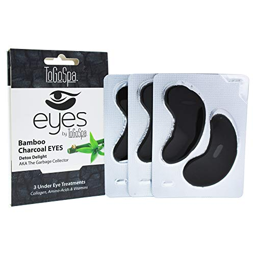 Bamboo Charcoal Eyes - 1 Pack - 3 Pair