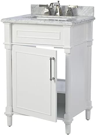Home Decorators Collection Aberdeen 24″ Single Bath Vanity
