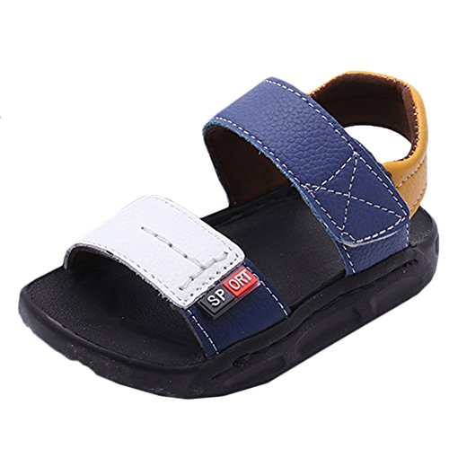 Scothen Bebé unisex zapatos para caminar las sandalias para zapatos niños del verano caminar al aire libre zapatos de bebé sandalias del bebé muchachos zapatos verano de las sandalias de los bebés White