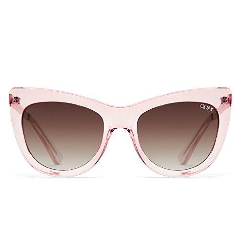 Quay Australia STEAL A KISS Women's Sunglasses Bold Cat Eye Sunnies - - Protection 100 Kiss Uv Sunglasses