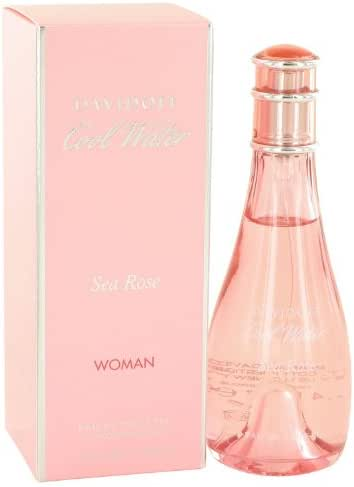Cool Water Sea Rose by Davidoff - Eau De Toilette Spray 3.4 oz