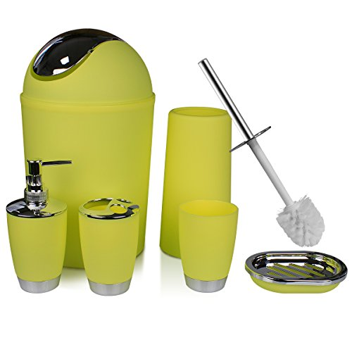 toothbrush holder and trash can - 1