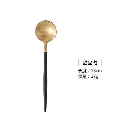 Portugal Black Gold,Silver,cuchillo,tenedor,cuchara 304 ...
