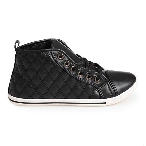 La Modeuse - Zapatillas de Deporte Mujer negro - negro