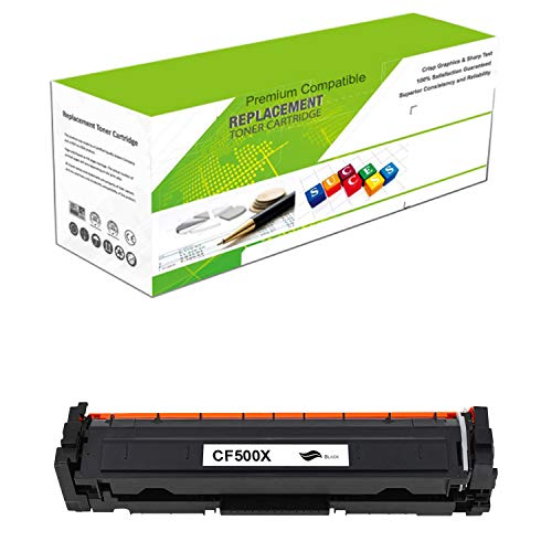 (ReManufactured Toner Cartridge Replacement for CF500X | Standard Yield Laser Printer Cartridge Compatible with HP Color Laserjet Pro MFP M280nw/M254dw/M281fdw by Premium Ink&Toner)