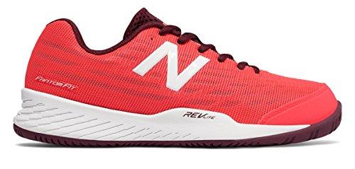 最小化する信頼性繊毛(ニューバランス) New Balance 靴?シューズ レディーステニス 896v2 Vivid Coral ヴィヴィッド コーラル US 6.5 (23.5cm)