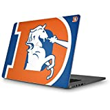 Skinit NFL Denver Broncos MacBook Pro 15 (2012-15 Retina Display) Skin - Denver Broncos Retro Logo Design - Ultra Thin, Lightweight Vinyl Decal Protection