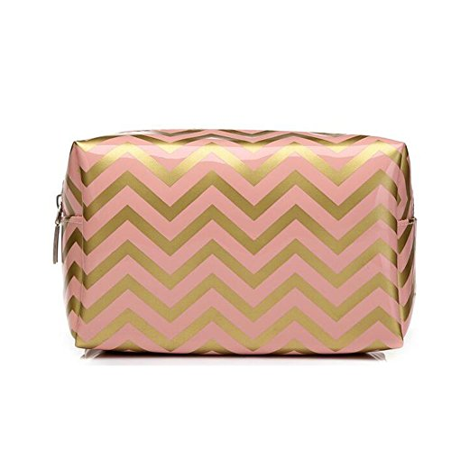 HOYOFO Portabel Makeup Pouch Travel Cosmetic Bags Handy Make