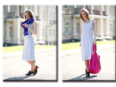 Kleid Leinen Weißes Amelia Leinen Weißes Amelia Kleid Kleid 1S1nrYH
