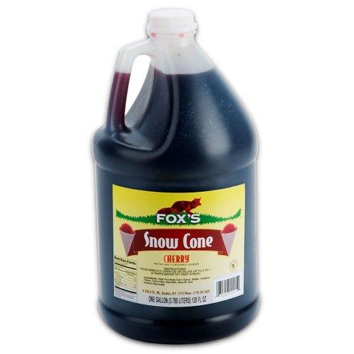 Fox Cherry Snow Cone Syrup 1 Gallon