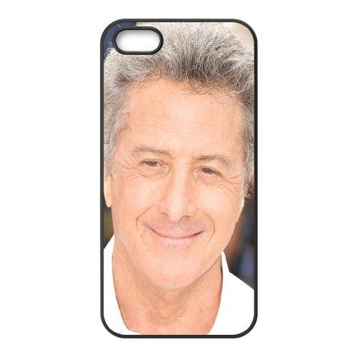Dustin Hoffman Celebrity Actor Gray Haired coque iPhone 4 4S cellulaire cas coque de téléphone cas téléphone cellulaire noir couvercle EEEXLKNBC24737
